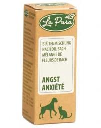 LAPURA Mélange fleurs Bach Anxiété glob vet 15 g