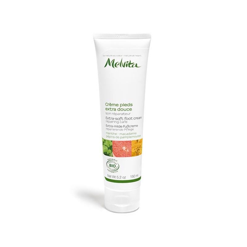 MELVITA CREME PIEDS EXTRA-DOUCE 150 ML