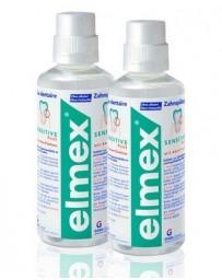ELMEX Eau dentaire Sensitive Plus 2 x 400 ml